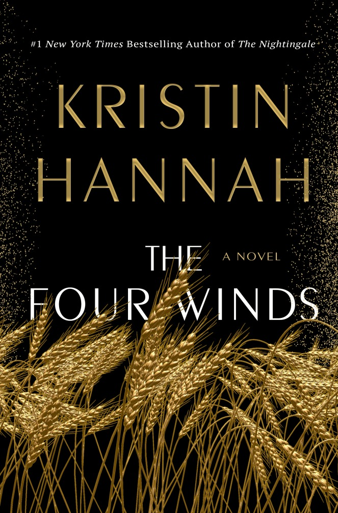 book cover of four winds by kristen hannah